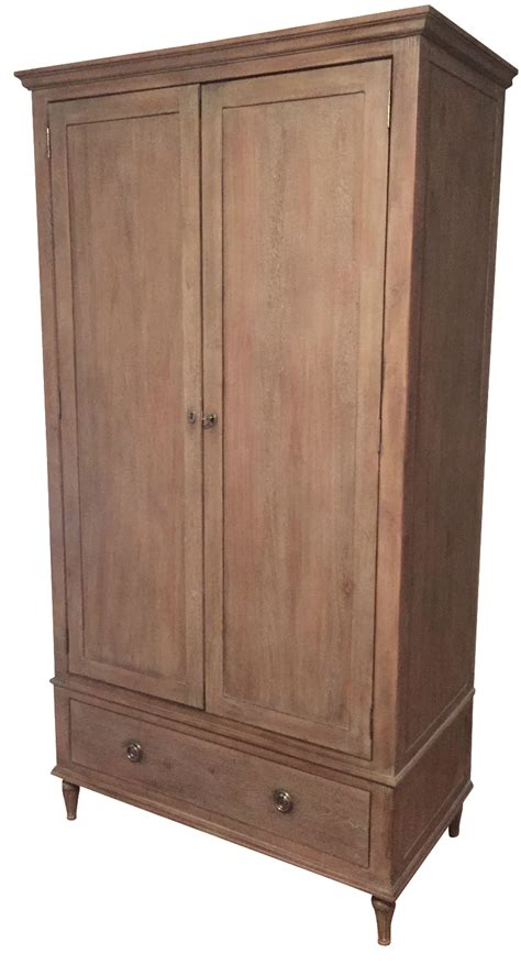restoration hardware armoire restoration hardware maison armoire chairish