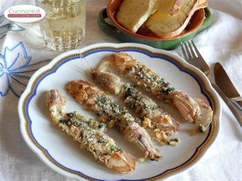come cucinare canocchie canocchie gratinate al forno cucinare it