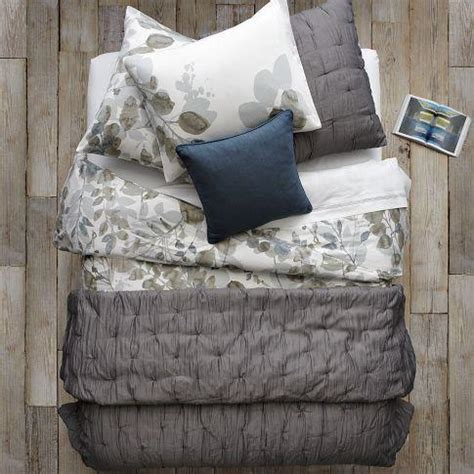 west elm bedding layered bed looks leafy layers west elm