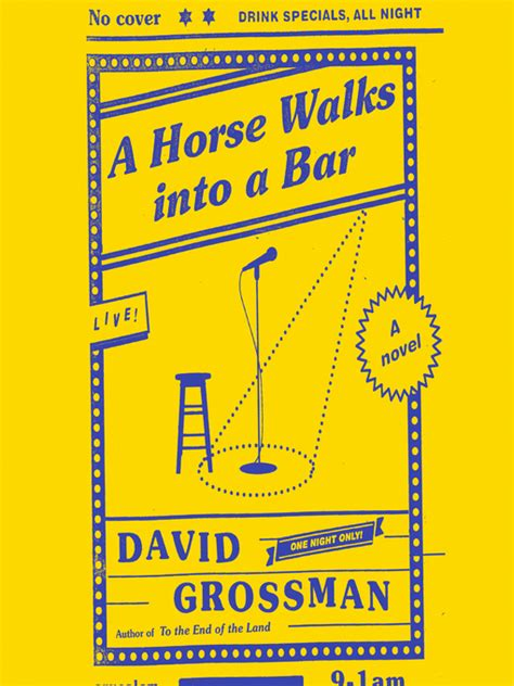 a horse walks into 1910702935 cover image for a horse walks into a bar