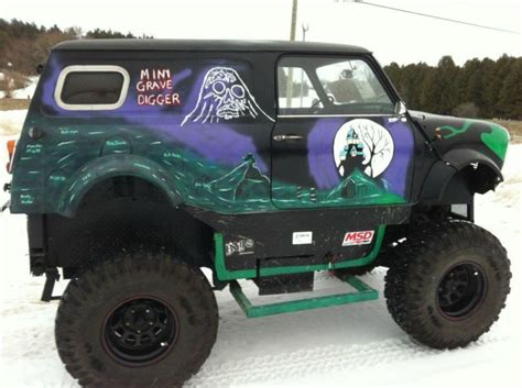 grave digger mini monster truck go grave digger cemetery images