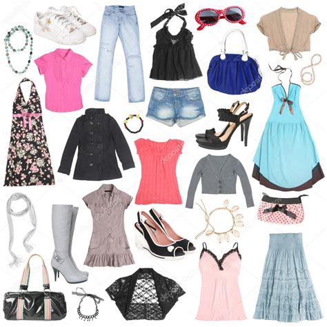 different clothes shoes and accessories 2