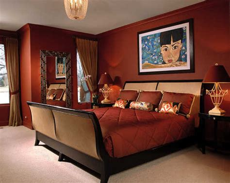 bright red bedroom admirable asian themed bedding ideas for your special