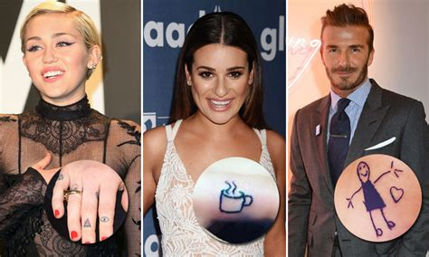 celebrity moment meaning the special meanings behind celebrity tattoos hello us