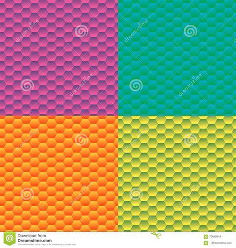 gradient background pattern vector gradient background with pattern hexagon stock vector