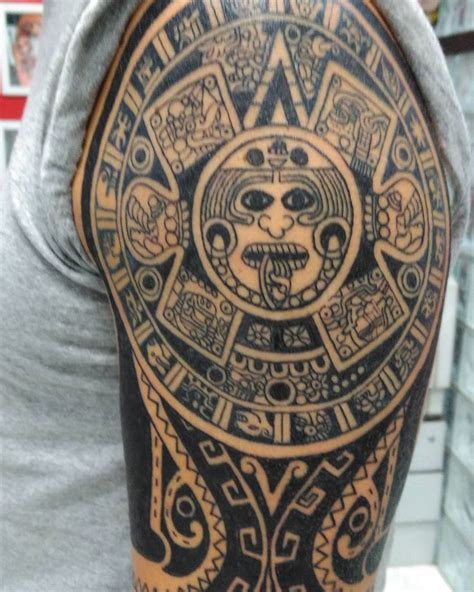 aztec tribal tattoo meanings best 25 aztec designs ideas on simple