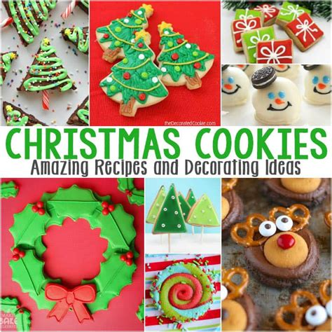 28 best decorated christmas cookies recipes decorating