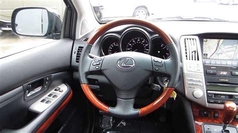 lexus rx black interior 2008 lexus rx350 black stock 089815 interior