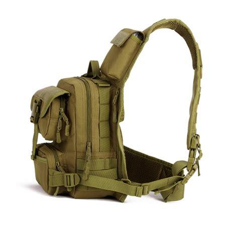Promo 1 Set Backpack Slingbag Pouch Termurah tactical daypack sling chest pack bag molle laptop backpack large shoulder bag