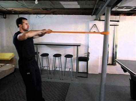 Resistance Band Bench Press Face Pull With A Band Youtube