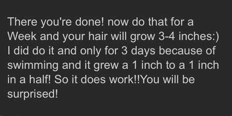 how to grow your hair 3 4 inches in a week how to grow your hair 3 4 inches in 1 week musely