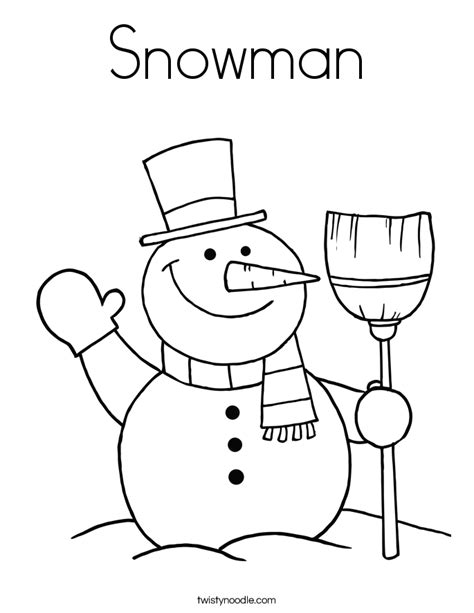 christmas tree and snowman coloring pages snowman color page murderthestout