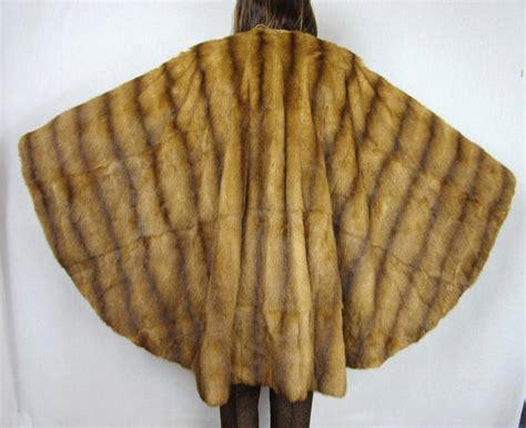 Murah L 951 Backless Soft Apron vintage mink revisable mink fur cape o s at 1stdibs