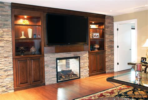 such as electric fireplace entertainment wall units