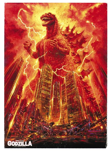 film godzilla kaiju film posters wrong side of the art