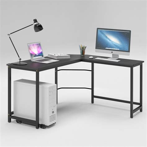 large gaming desk best l shaped desk 2017 reviews top gaming and computer