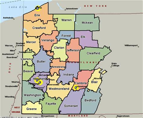 zip code map western pa map of western pennsylvania my blog