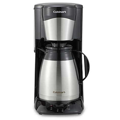 bed bath coffee maker cuisinart 174 12 cup stainless steel programmable thermal