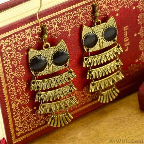 Retro Earring retro national owl earring fashion earrings jewelry