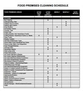 cleaning business template sle cleaning schedule 4 documents in pdf