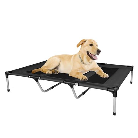 high dog beds elevated dog bed for large dogs home decor furniture dog