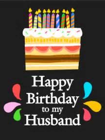 sweet happy birthday card for husband birthday greeting cards by davia