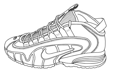 coloring pages nike free shoes 5 coloring pages