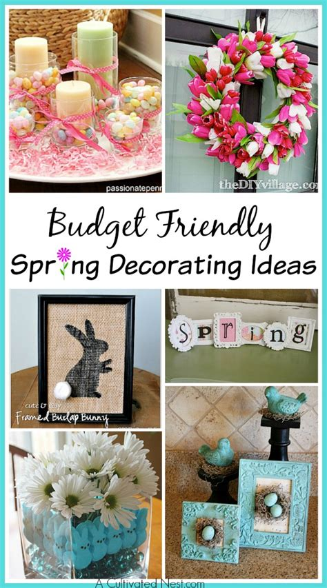 diy spring projects 10 adorable diy dollar store spring crafts a cultivated nest