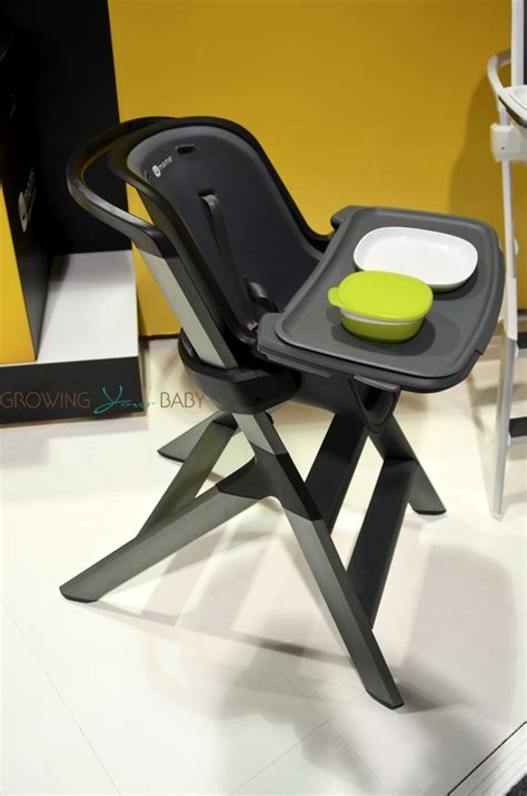 4moms high chair 4moms highchair side profile growing your baby