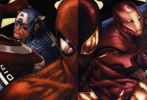 marvel civil war pictures sony hack reveals plans to include spider in marvel s