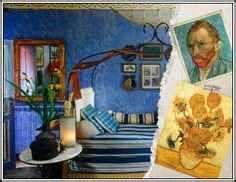 Gogh Inspired Bedroom 1000 Images About The Bedroom On Wooden Bed