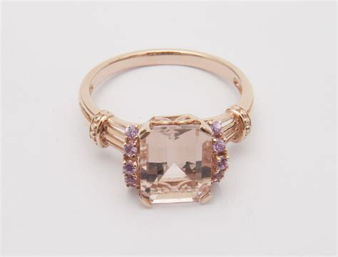 qvc jewelry morganite ring newsdesk