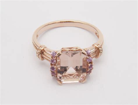 QVC Jewelry: Morganite Ring   Newsdesk