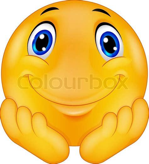 emoticon smiley face stock vector illustration of head vector illustration of thinking emoticon smiley cartoon