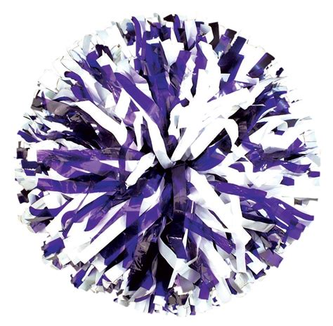 purple pomeranian youth two color pom pom pom pon poms4less