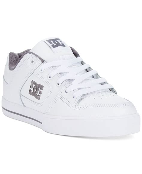 dc shoes sneakers in white for lyst