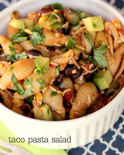 pasta salad recipes cold 17 best ideas about taco pasta salads on pinterest cold