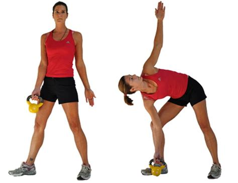kettlebell side swing pick up your kettlebell for a fun workout