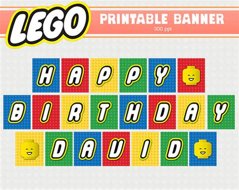Lego Happy Birthday Banner Template 7 Best Images Of Printable Lego Happy Birthday Free Printable Happy Birthday Lego Card Happy