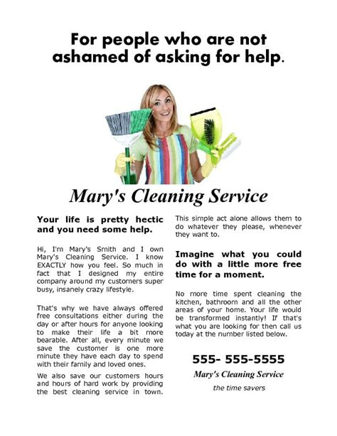 flyer templates house cleaning house cleaning help flyer that gets results heres and