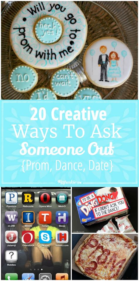 ways to ask a to be your 20 creative ways to ask someone out prom date