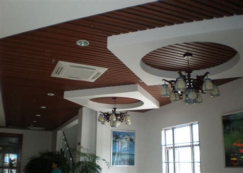 Roof And Ceiling by Recyclable Decorative Ceiling Tile Wood Plastic