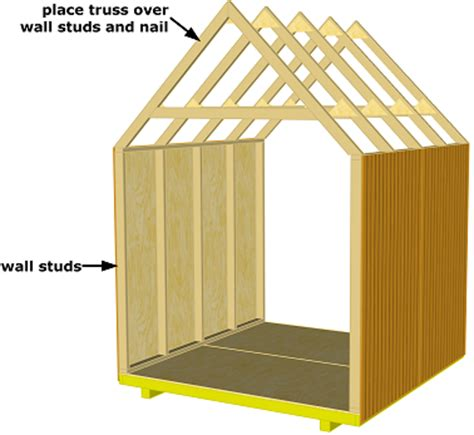 How To Make Trusses For Shed by Related Keywords Suggestions For Shed Rafters
