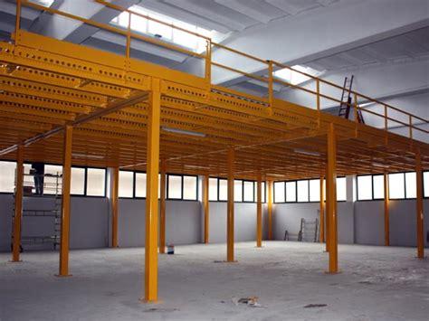 capannoni metallici soppalchi industriali montaggio prefabbricati metallici