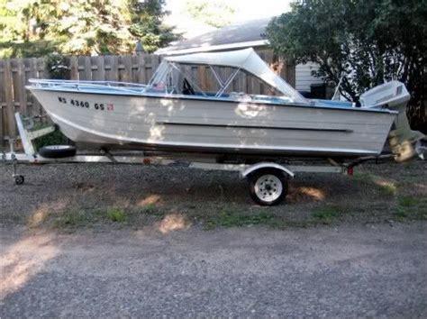 vintage aluminum fishing boats 17 best images about vintage starcraft aluminum boats on