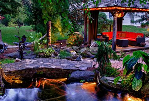 backyard paradise landscaping backyard aquatic paradise eclectic landscape new