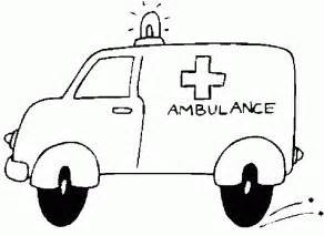 ambulance coloring pages ambulance coloring pages coloringpagesabc