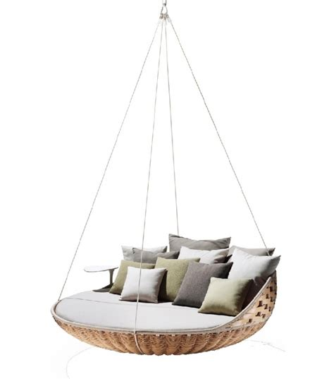 dedon swing swingrest hanging lounger dedon milia shop