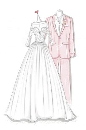 wedding dress sketches prom dress sketches
