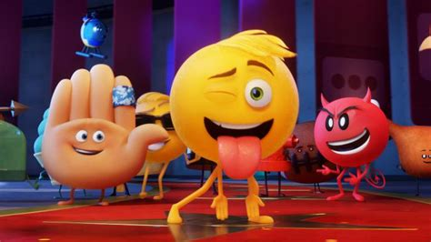 emoji film clip the emoji movie isn t it iconic culture the sunday times